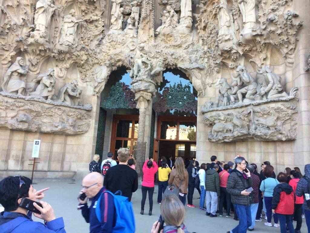 جاودي وعجائبه السبع في برشلونة